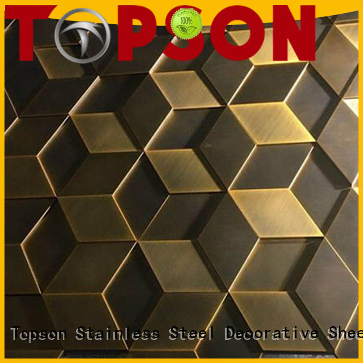 Topson fashion design stainless steel cladding suppliers Supply for shopping mall