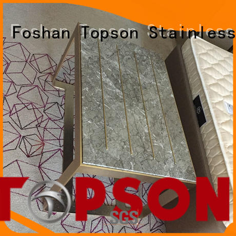Topson widely used metal frame furniture oem for building facades