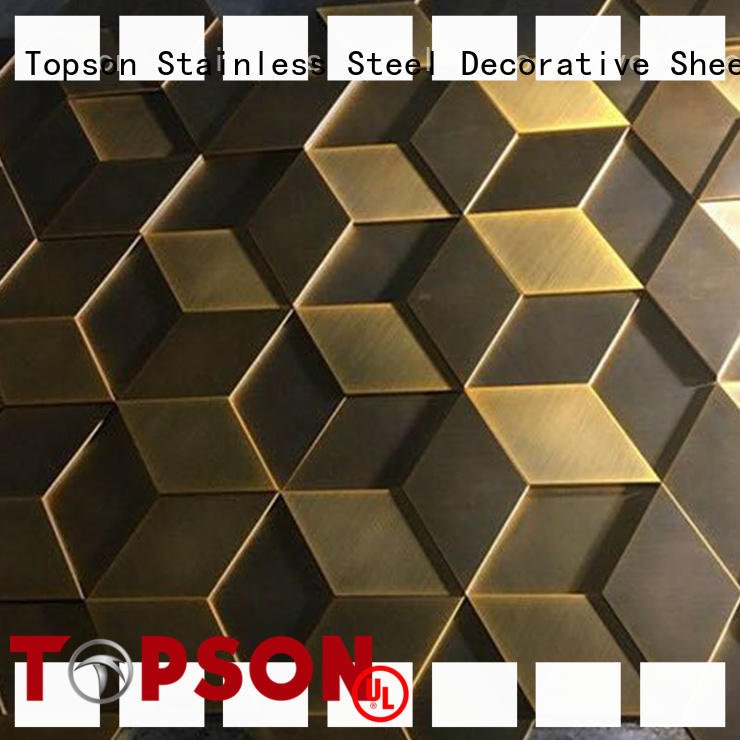 Topson wall metal cladding manufacturers company for lift