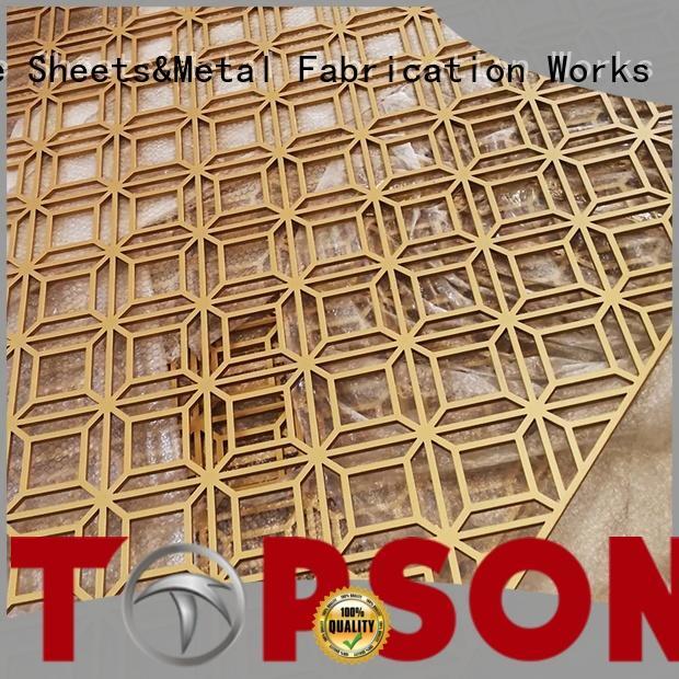 Topson good design mashrabiya screen marketing for protection