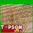Topson special design outdoor metal screens from china for curtail wall