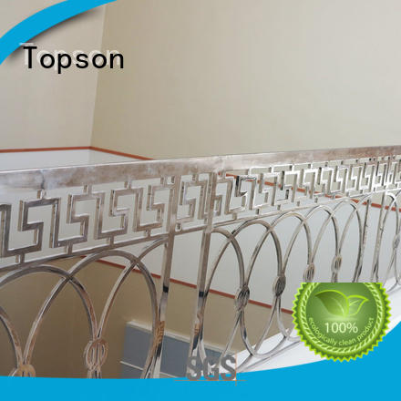 Topson handrailstainless stainless steel handrail systems marketing for hotel