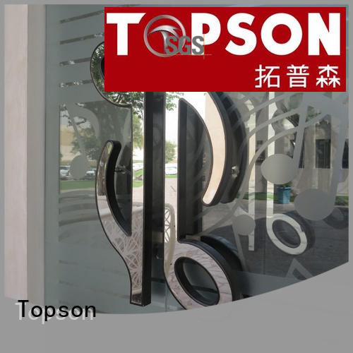 stainless steel door manufacturers commercial for roof decoration Topson