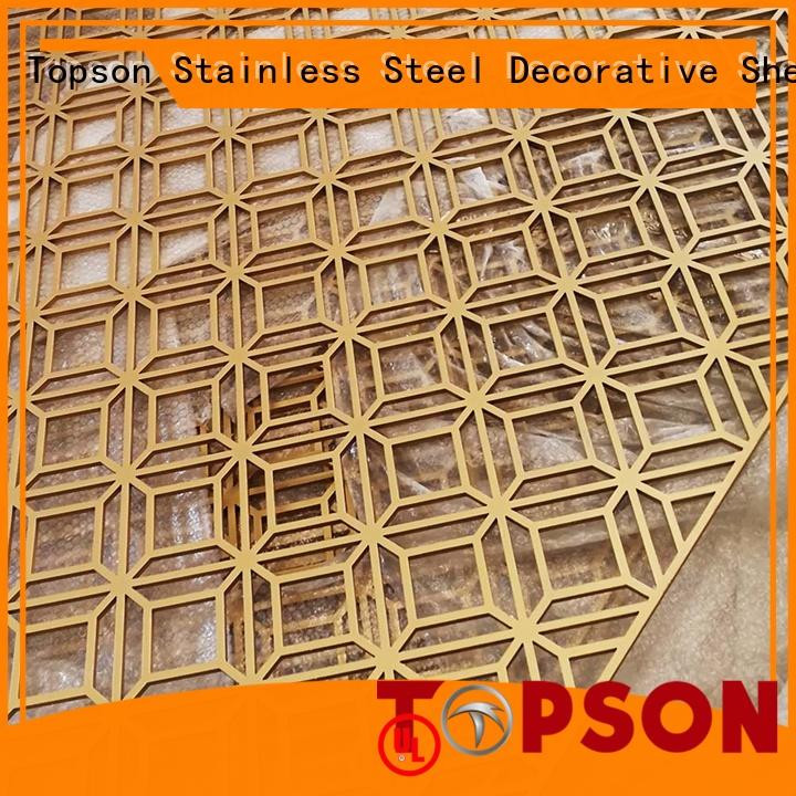 decorative outdoor metal screens buy now for protection Topson