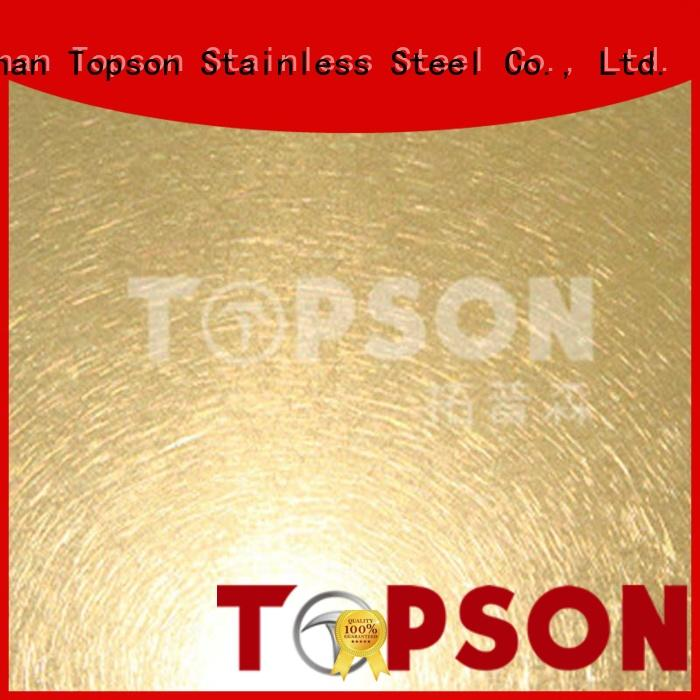 Topson good-looking stainless steel sheets for sale bead for furniture