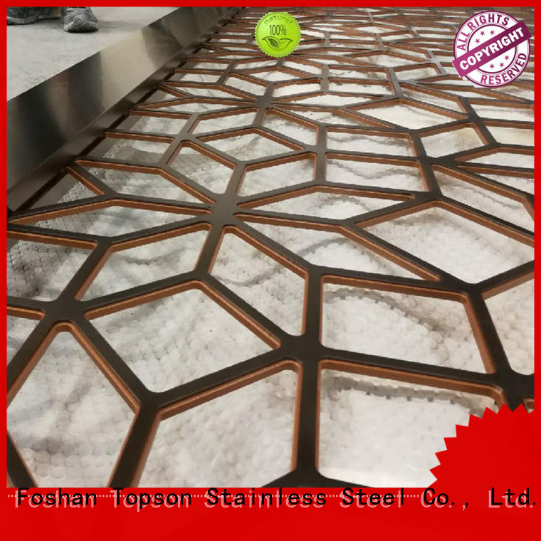 durable stainless steel screens suppliers aluminium factory for exterior decoration