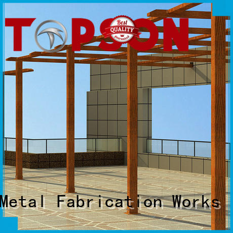 Custom aluminum outdoor pergola pergolaaluminum factory for hotel