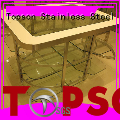 Topson furniture metal works custom fabrication oem for interior
