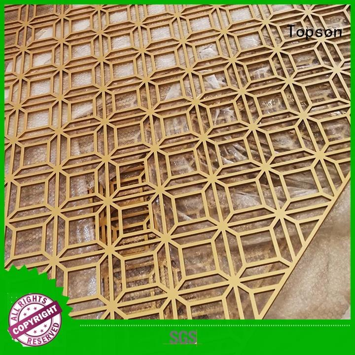 great practicality perforated metal screen panels from china for building faced