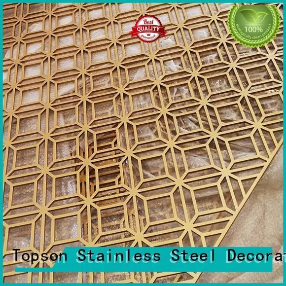 Topson mashrabiya decorative metal mesh screen manufacturers for protection