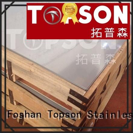 Topson Top stainless steel sheet suppliers for elevator for escalator decoration