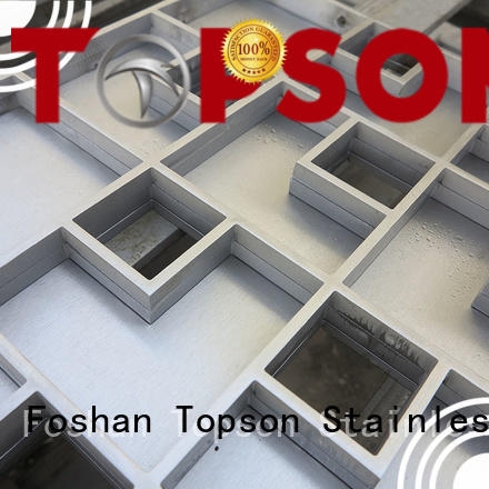 Topson inspection customised metal work in china for bridge corridor for area building