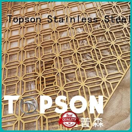 Topson stable outdoor metal garden screens in china for landscape architecture