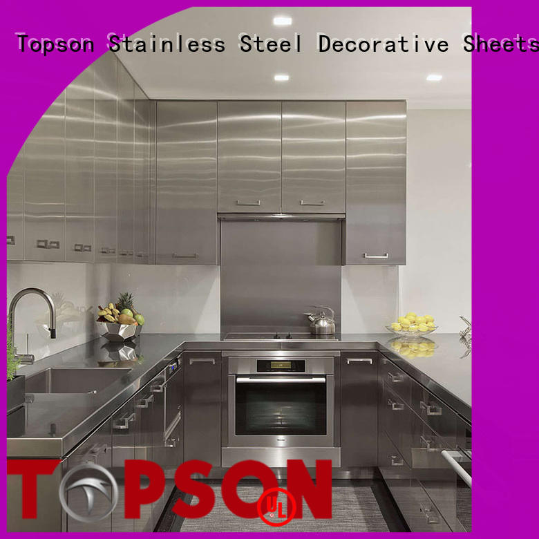 Topson good-looking metal furniture for roof decoration