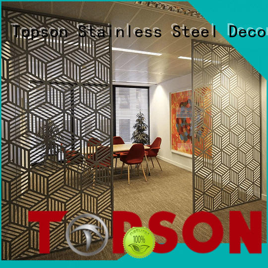 Topson meshperforated stainless steel screen buy now for landscape architecture