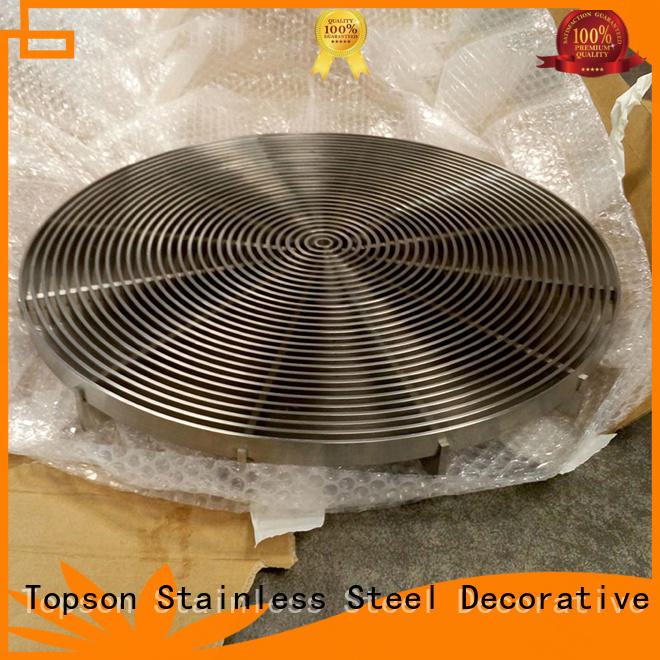 Topson high-quality metal grating prices for business for apartment