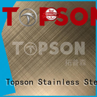 Topson sheetmirror stainless steel sheets for kitchen