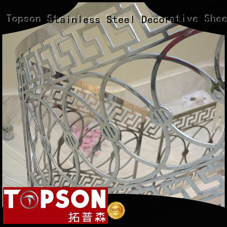 Topson handrailstainless stainless handrail systems for business for mall