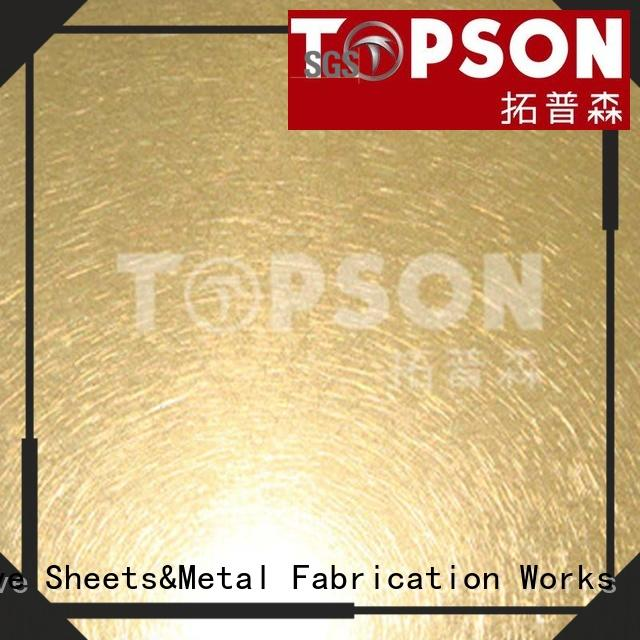 VIBRATION Stainless Steel Sheet
