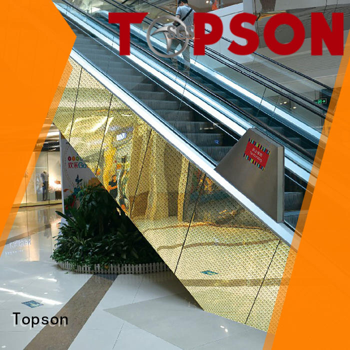 Topson wall building cladding factory price for shopping mall