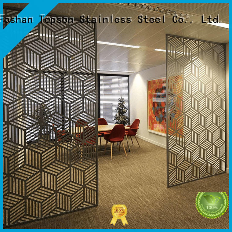 Topson screenperforated exterior metal screens marketing for exterior decoration