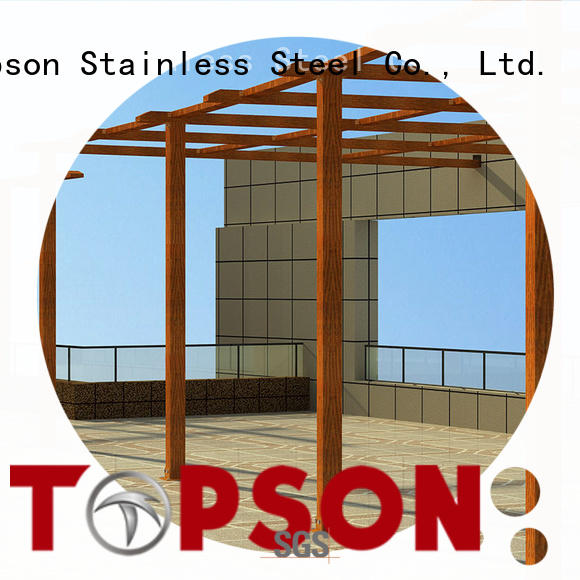stain resistance aluminium pergola fixed Suppliers for hotel