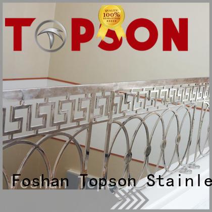 stable stainless railings bridge application