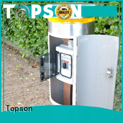 Topson stainless stainless bollards certifications for apartment