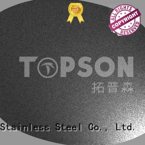 Topson embossed stainless steel panels China for furniture