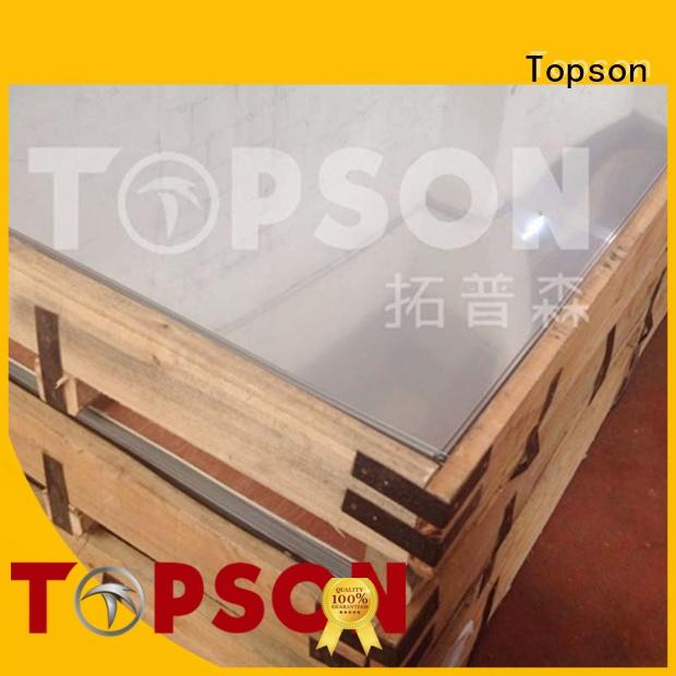 polished stainless steel sheet price bead for kitchen Topson