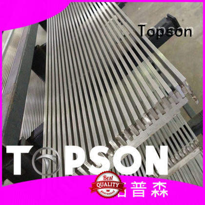Topson good-looking stainless steel bar grating in-green for tower