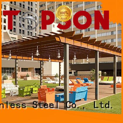 Topson durable metal work supplies speed for backyard