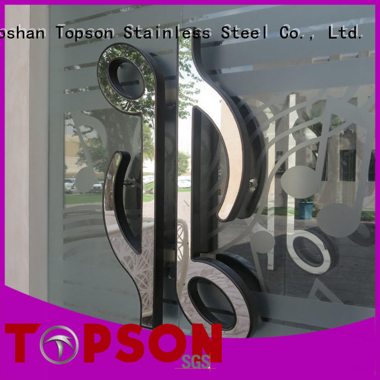 Topson environment friendly stainless steel door price management for interior