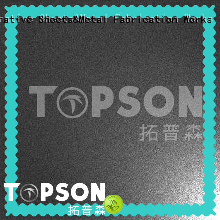 Topson stainless steel panels production for floor
