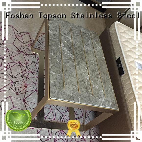 Topson kitchen stainless cabinet for sale Suppliers for hotel lobby decoration