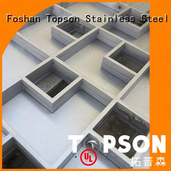 Topson New customised metal work factory for apartment