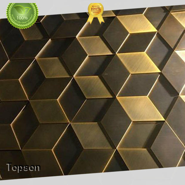 Topson cost-effective exterior metal wall cladding in china for elevator