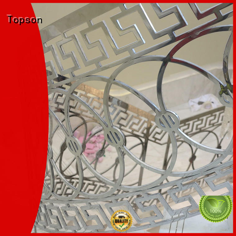 Topson stair stainless steel stair railing suppliers company for office