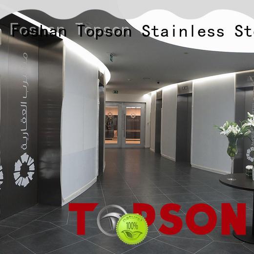 Topson door stainless steel door handles factory for roof decoration
