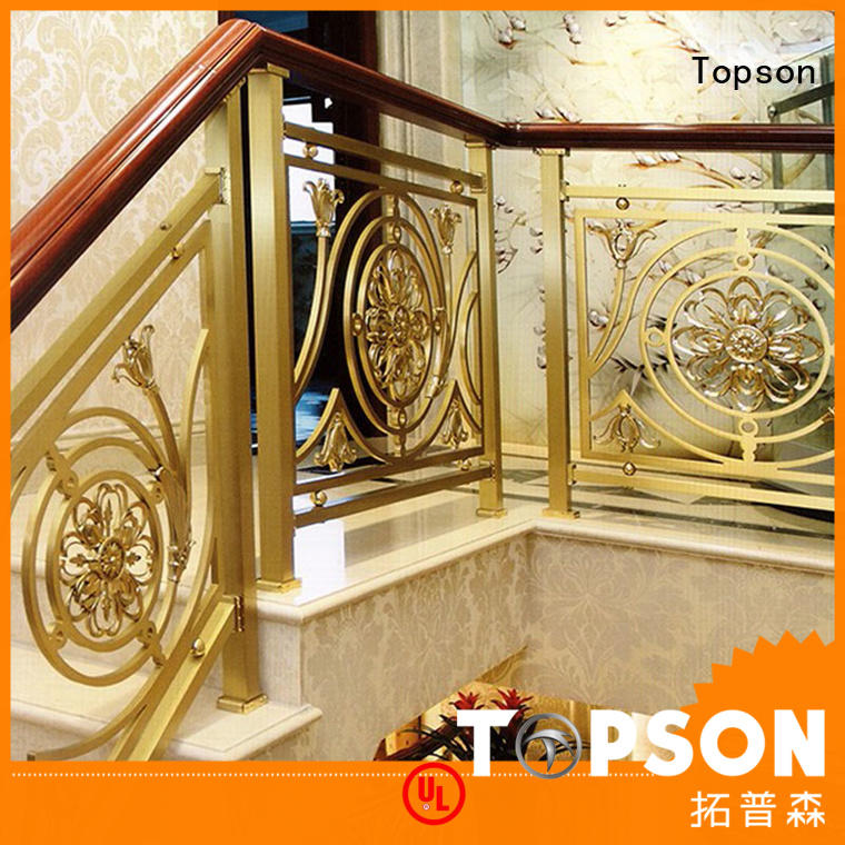 Top stainless steel stair handrail curved Supply for apartment