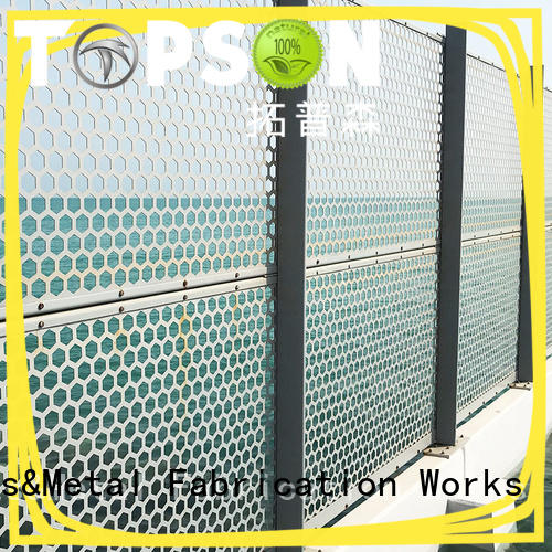 outdoor metal screen panels mesh for building faced Topson