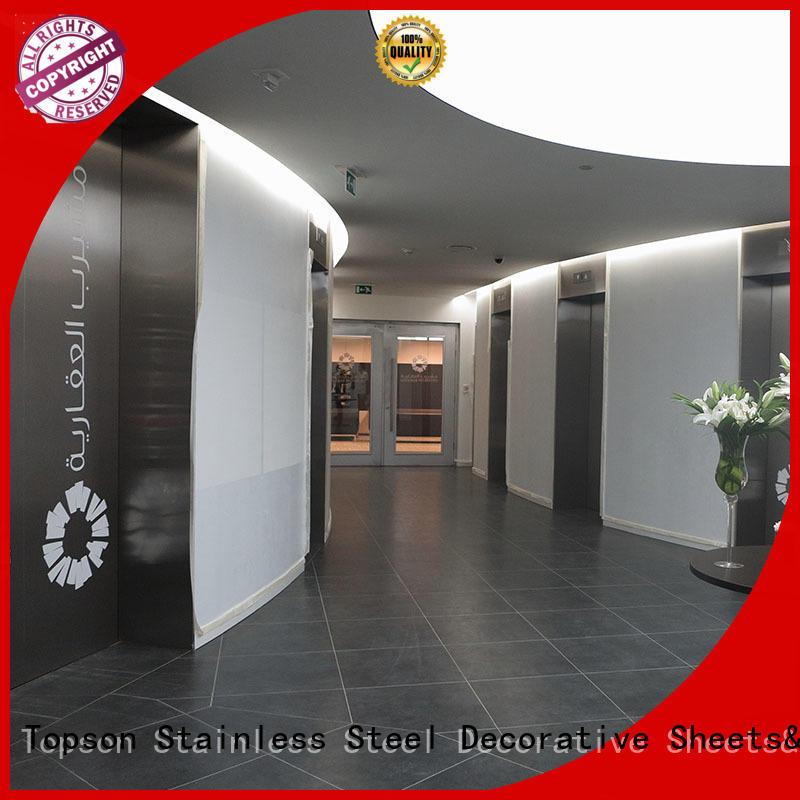 Topson popular stainless steel exterior door handles for building facades