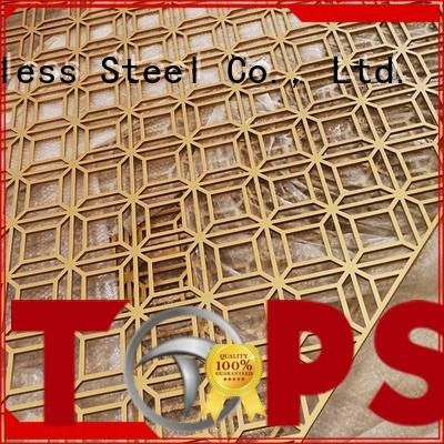 Topson Custom decorative aluminum screen Suppliers for protection