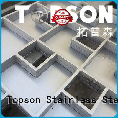 Topson Top customised metal work for business for bridge corridor for area building
