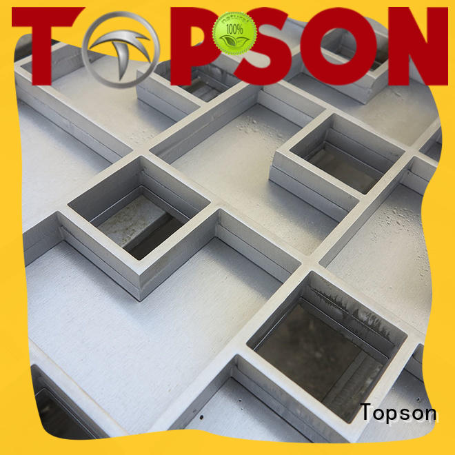high-quality stainless steel drain cover tray in china for bridge corridor for area building