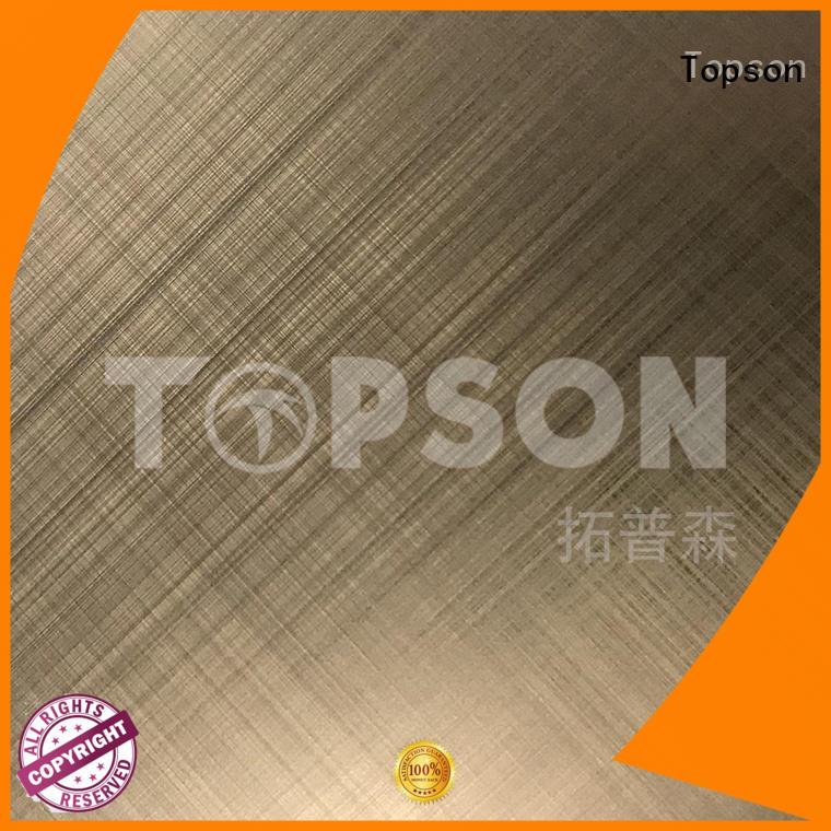 Topson sheetdecorative metal work supplies circuit for handrail