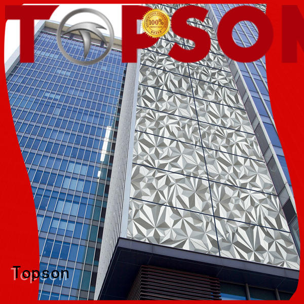 Topson new arrival stainless steel wall cladding in different color for elevator