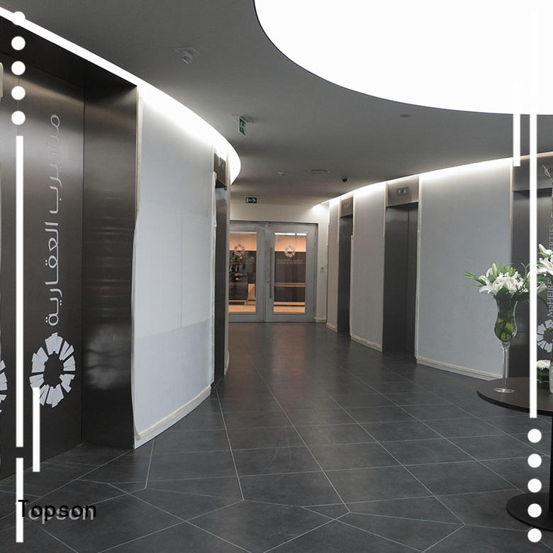 Topson Latest stainless steel door for business for outdoor wall cladding