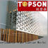 Topson metal screen manufacturers factory for building faced