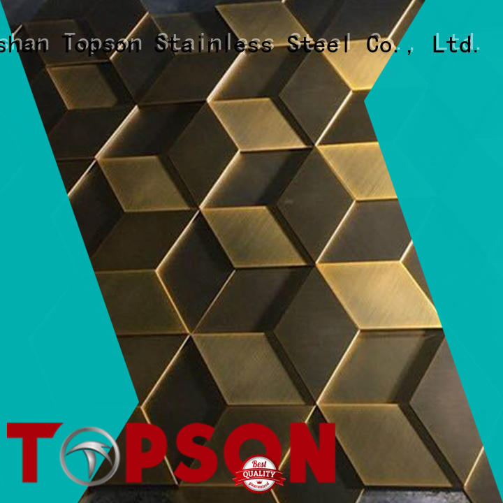 Topson metal cladding panels for business for shopping mall